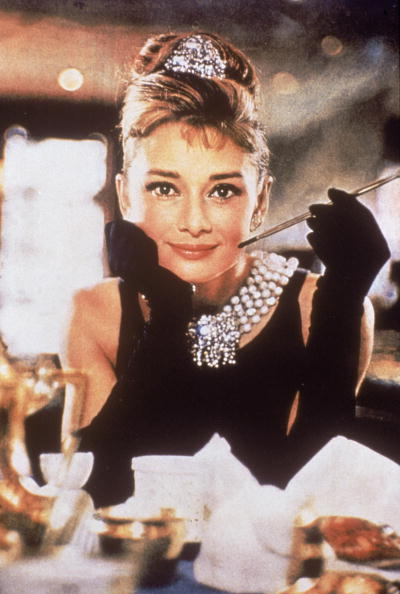 Salon Buzz_Audrey Hepburn French Pleat Breakfast at Tiffany's