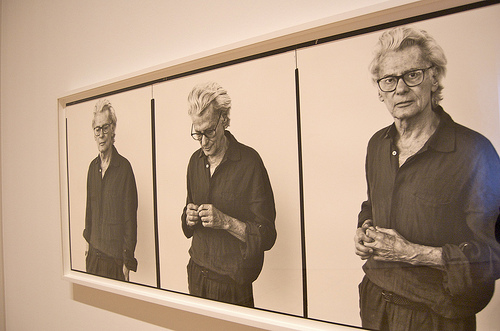 Richard Avedon Portrait at Exhibit
