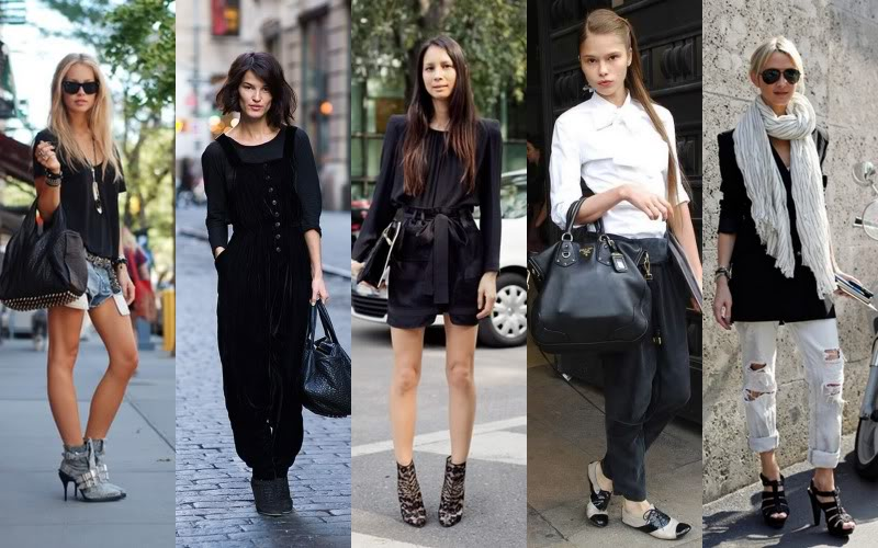 Street Fashion Breaking Out Individuality
