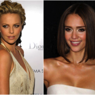 Charlize Theron Jessica Alba Oval Face_Salon Buzz Stay Gorgeous