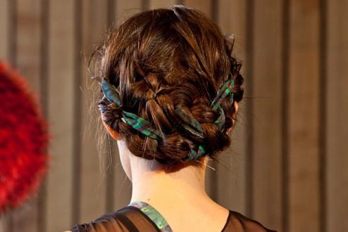 Christian Cota NYFW 2012 Fabric Hair_Salon Buzz Stay Gorgeous