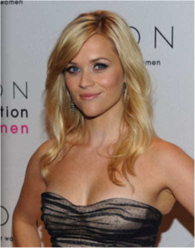 Reese Witherspoon Heart Shaped Face_Salon Buzz Stay Gorgeous