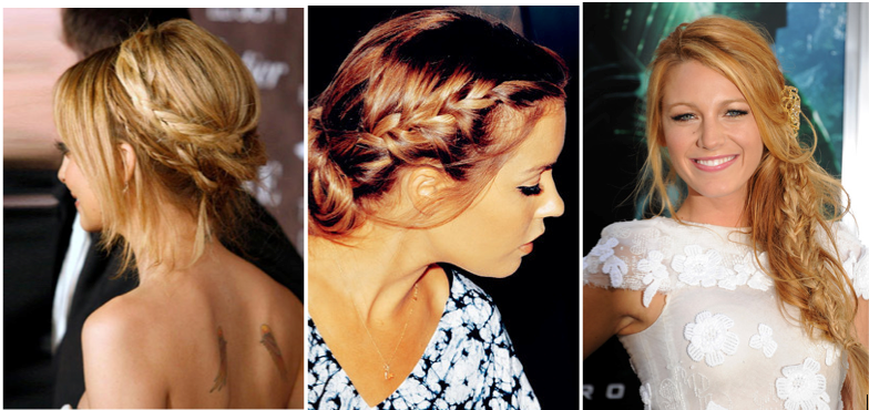 Nicole Richie Lauren Conrad Blake Lively braids hairstyle trend_Salon Buzz Stay Gorgeous
