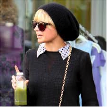 Nicole Richie Juice_Salon Buzz Stay Gorgeous