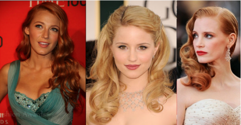 Blake Lively Diana Argon Jessica Chastain_Salon Buzz Stay Gorgeous