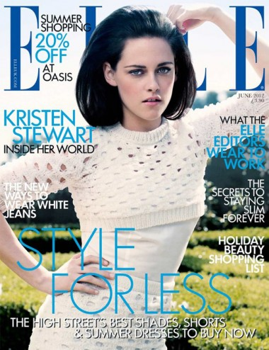 Kristen Stewart bouffant Elle June_Salon Buzz Stay Gorgeous