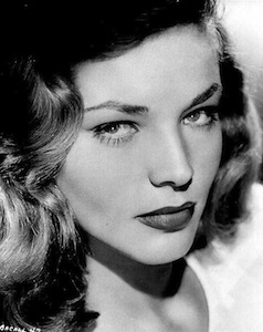 Lauren Bacall hairstyle