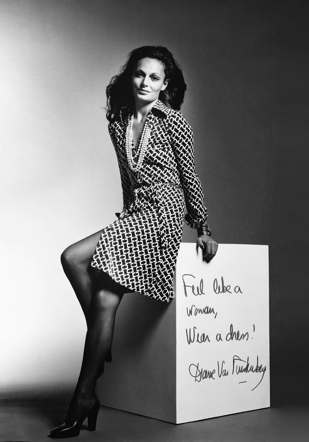 diane von furstenberg a true model. Black Bedroom Furniture Sets. Home Design Ideas