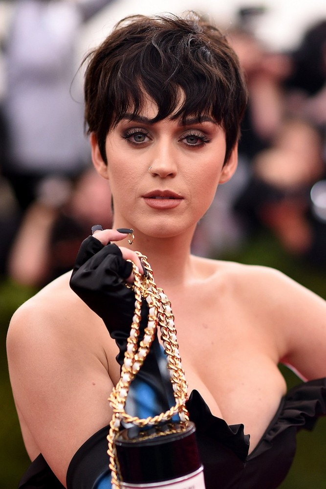 Katy Perry Pixie Cut