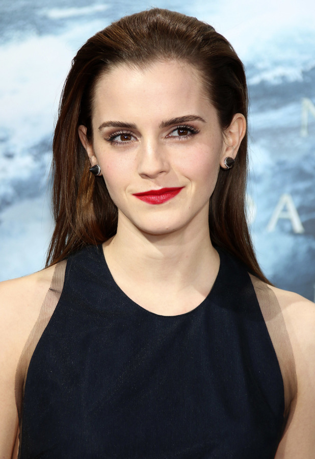 Emma Watson Slicked Back