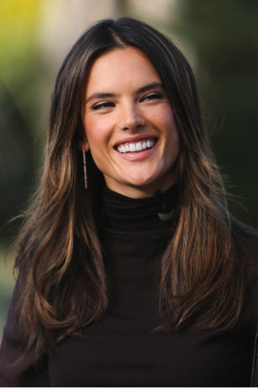 Fall color trends alessandra ambrosio highlights pmusecretfo Gallery