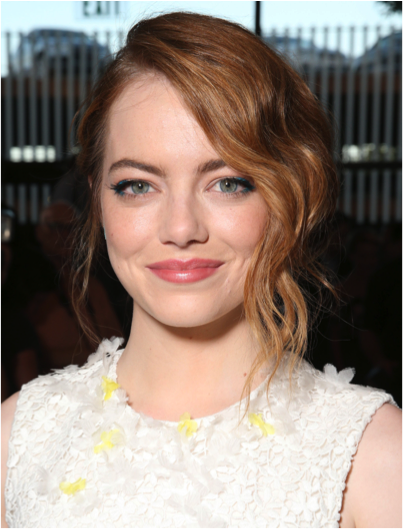 Emma Stone Strawberry Hair